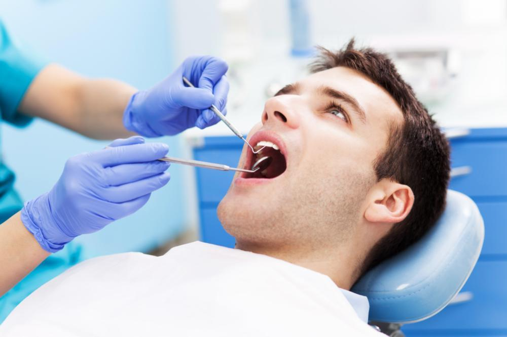 Man at Dentist | Troutdale OR
